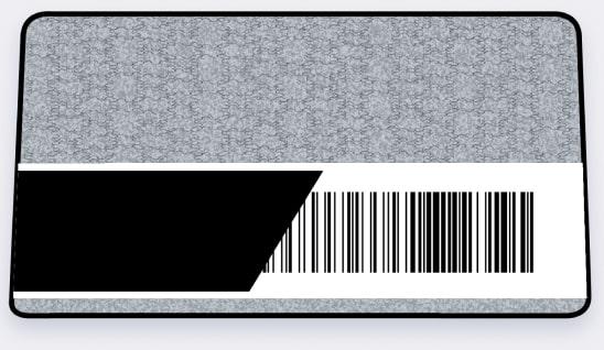 Infrarot Barcode Filter Overlay