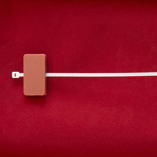 RFID Kabelbinder Transponder, Horizontal, 125 kHz & 13.56 MHz