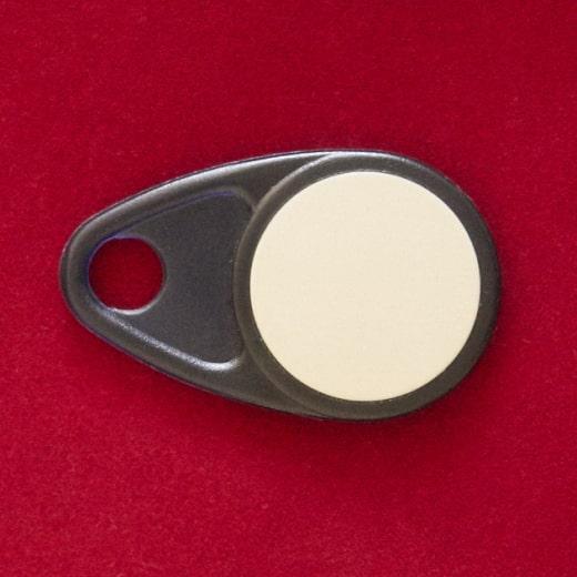 RFID Schlüsselanhänger 32x52mm, 125 kHz & 13.56 MHz